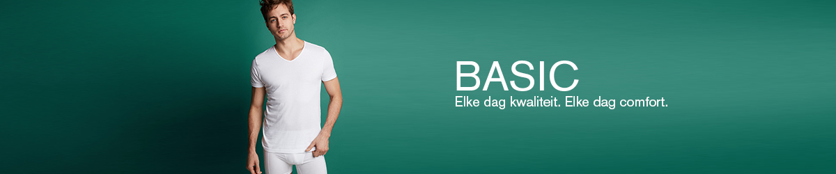 Heren basic collectie